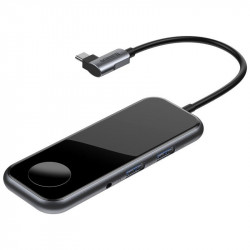 HUB BASEUS ADAPTER 6w1 USB-C 2xUSB 3.0 APPLE ŁADOWANIE