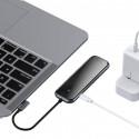 HUB BASEUS ADAPTER 6w1 USB-C 3xUSB RJ45 HDMI