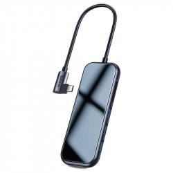 HUB BASEUS ADAPTER 6w1 USB-C 3xUSB SD/microSD HDMI