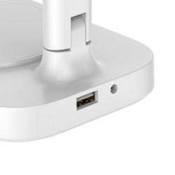 Baseus Lampa biurkowa LED z ładowarką indukcyjną