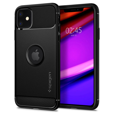 ETUI SPIGEN RUGGED ARMOR iPhone 11