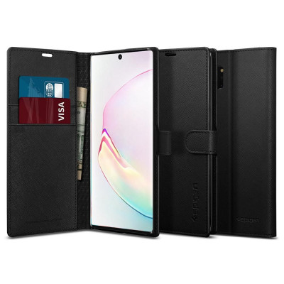 ETUI SPIGEN Wallet S do Galaxy Note 10 PLUS