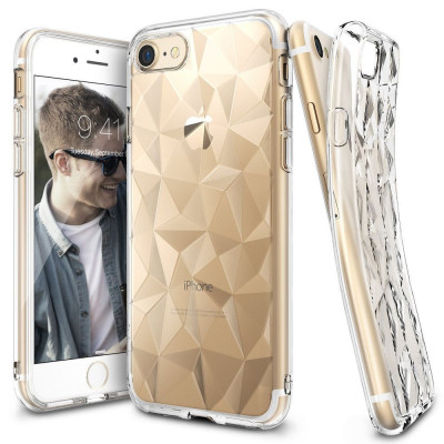ETUI RINGKE PRISM AIR IPHONE 7/8 PLUS + FOLIA