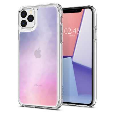 ETUI SPIGEN CRYSTAL HYBRID QUARTZ  iPhone 11 PRO