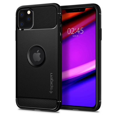ETUI SPIGEN RUGGED ARMOR iPhone 11 PRO MAX