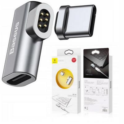 BASEUS Magnetyczny Adapter Kątowy USB-C Macbook
