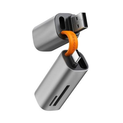 Czytnik kart SD/microSD Baseus Mini-cabin USB+USB-C