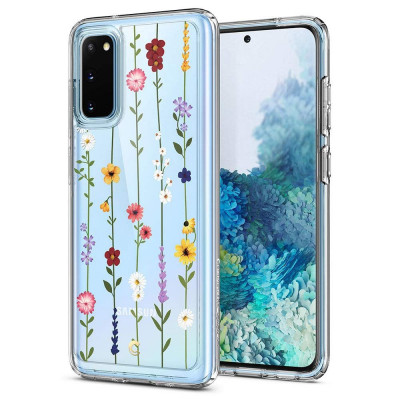 ETUI SPIGEN CIEL FLOWER GARDEN do Samsung Galaxy S20