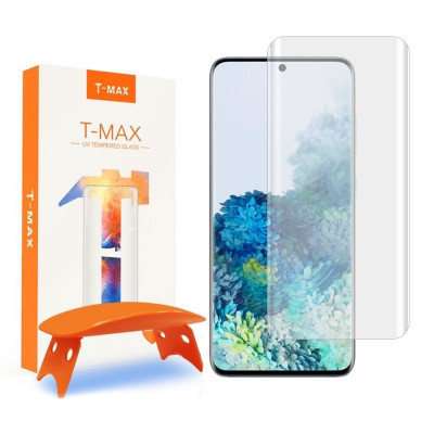 SZKŁO HARTOWANE T-MAX 9H LAMPA UV Galaxy S20 PLUS