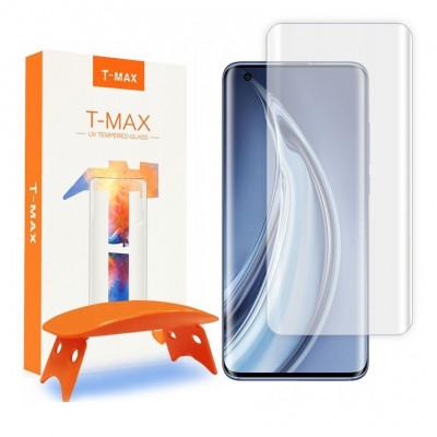 SZKŁO HARTOWANE T-MAX 9H LAMPA UV Galaxy XIAOMI MI 10/MI 10 PRO