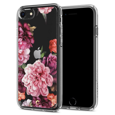 ETUI SPIGEN CIEL ROSE FLORAL do iPhone 8 / 7 / SE 2020
