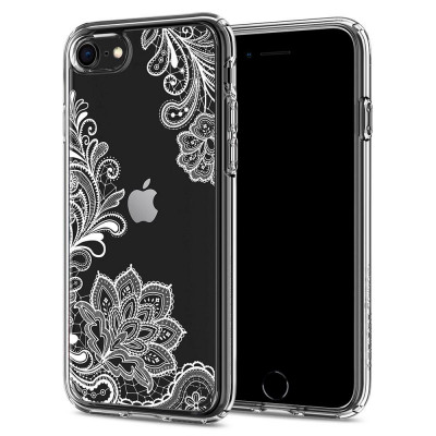 ETUI SPIGEN CIEL WHITE MANDALA do iPhone 8 / 7 / SE 2020