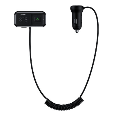 TRANSMITER BASEUS FM AUX, Bluetooth, 2xUSB, 3A