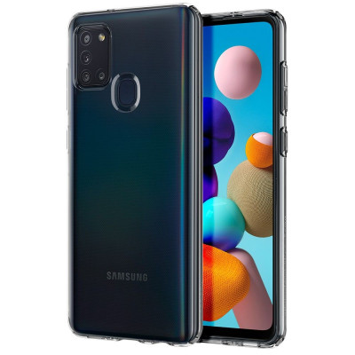 ETUI SPIGEN LIQUID CRYSTAL do Samsung Galaxy A21S