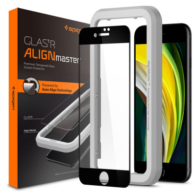 SZKŁO SPIGEN ALIGN MASTER FULL COVER do IPHONE 7/8/SE 2020