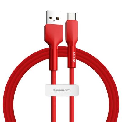 KABEL BASEUS Silica Gel USB-C 3A, 1m