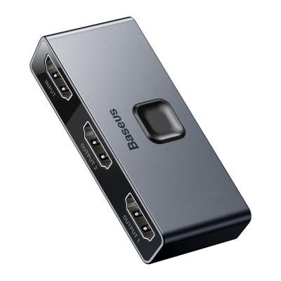 BASEUS SPLITTER HDMI ROZDZIELACZ FULL HD 4K 30HZ