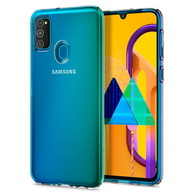ETUI SPIGEN LIQUID CRYSTAL do Samsung Galaxy M21