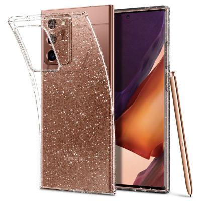 ETUI SPIGEN LIQUID CRYSTAL GLITTER do Galaxy Note 20 Ultra