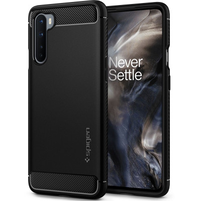 ETUI SPIGEN Rugged Armor do OnePlus Nord