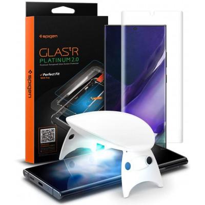 SZKŁO SPIGEN GLAS.TR PLATINUM Samsung Galaxy Note 20 ULTRA