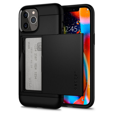 ETUI SPIGEN SLIM ARMOR CS iPhone 12/12 Pro