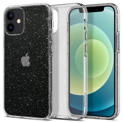 ETUI SPIGEN LIQUID CRYSTAL GLITTER iPhone 12 MINI