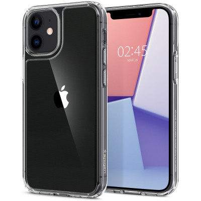 ETUI SPIGEN QUARTZ HYBRID iPhone 12 MINI