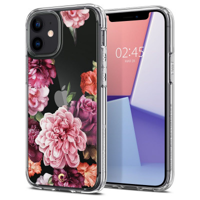 ETUI SPIGEN CIEL ROSE FLORAL IPHONE 12 MIN