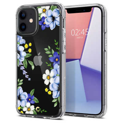 ETUI SPIGEN CIEL MIDNIGHT BLOOM IPHONE 12 MINI