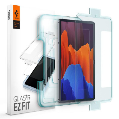 SZKŁO 9H SPIGEN EZ FIT GALAXY TAB S7 PLUS