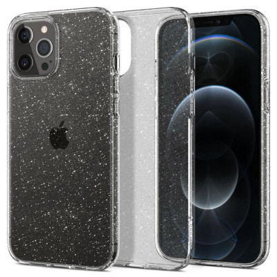 ETUI SPIGEN LIQUID CRYSTAL GLITTER iPhone 12/12 PRO
