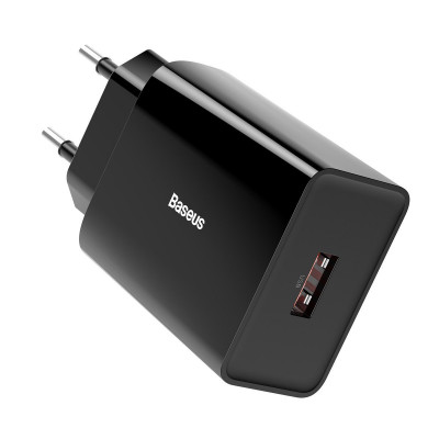 ŁADOWARKA SIECIOWA BASEUS Speed Mini PD+QC 3.0 18W