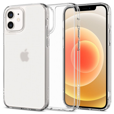 ETUI SPIGEN QUARTZ HYBRID iPhone 12/12 Pro