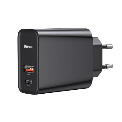 BASEUS ŁADOWARKA USB USB-C PD QUICK CHARGE 3.0 30W
