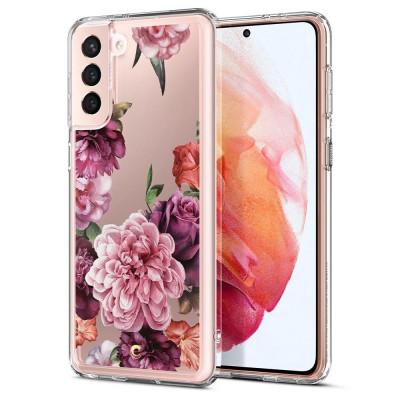 ETUI SPIGEN CIEL ROSE FLORAL do Samsung Galaxy S21