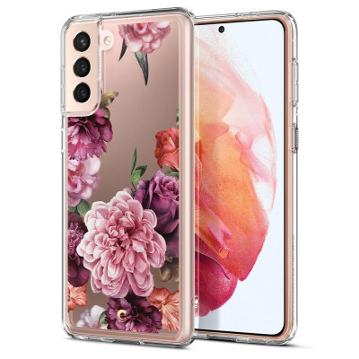 ETUI SPIGEN CIEL ROSE FLORAL do Samsung Galaxy S21 PLUS