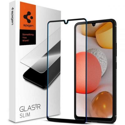 SZKŁO 9H SPIGEN FULL COVER Samsung Galaxy A42 5G