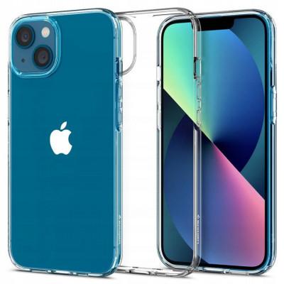 ETUI SPIGEN LIQUID CRYSTAL do iPhone 13 MINI - kolor: Crystal Clear