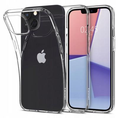 ETUI SPIGEN LIQUID CRYSTAL do iPhone 13 - kolor: Crystal Clear