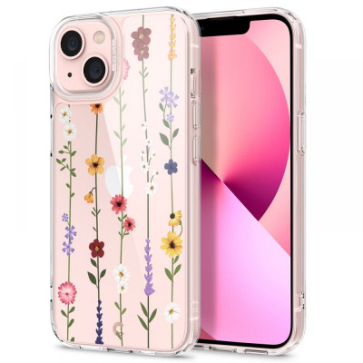 ETUI SPIGEN CYRILL CECILE do iPhone 13 FLOWER GARDEN
