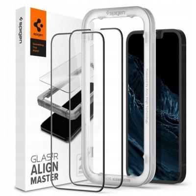 SZKŁO SPIGEN ALIGN FULL do iPhone 13 Pro Max 2-Pack