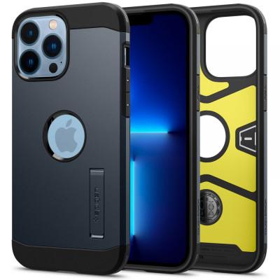 ETUI SPIGEN  TOUGH ARMOR do iPhone 13 PRO MAX - kolor: Metal Slate