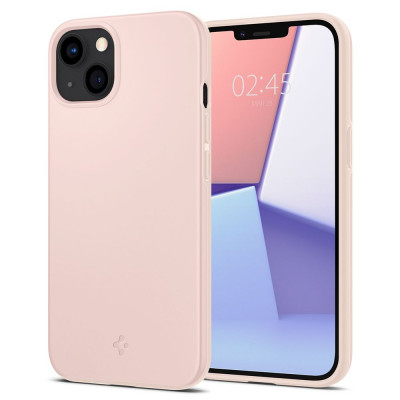 ETUI SPIGEN THIN FIT DO IPHONE 13 MINI - kolor: Pink Sand