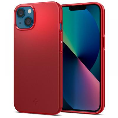 ETUI SPIGEN THIN FIT DO IPHONE 13 MINI - kolor: Red