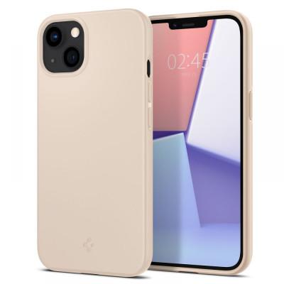 ETUI SPIGEN THIN FIT DO IPHONE 13 MINI - kolor: Sand Beige
