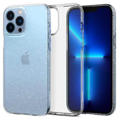 ETUI SPIGEN LIQUID CRYSTAL do iPhone 13 PRO MAX - kolor: Glitter Crystal