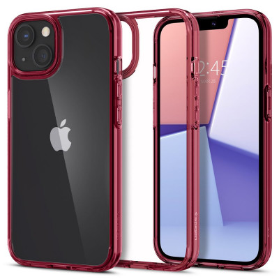 ETUI SPIGEN ULTRA HYBRID do iPhone 13 Mini - kolor: Red Crystal