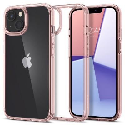 ETUI SPIGEN ULTRA HYBRID do iPhone 13 Mini - kolor: Rose Crystal