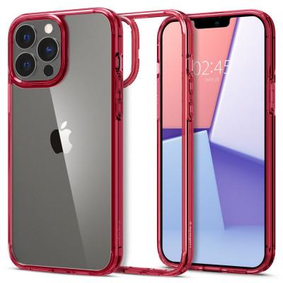 ETUI SPIGEN ULTRA HYBRID do iPhone 13 - kolor: Red Crystal